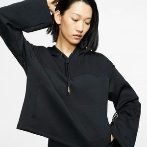 NWT Nike Black Fringe Training Hoodie XS